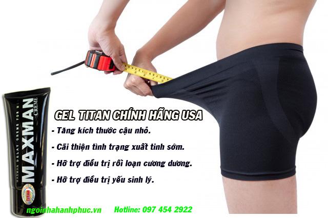 Ban titan gel tai Ha Noi