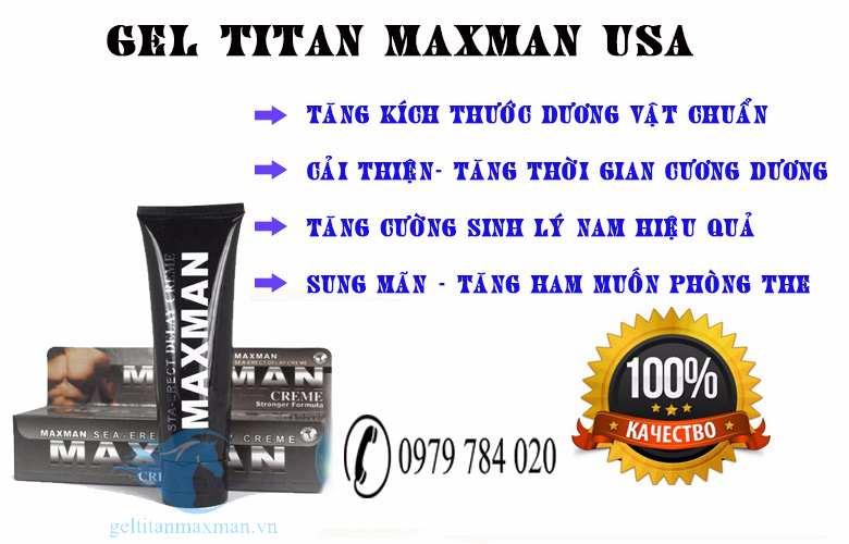 gel titan có tác dụng phụ không