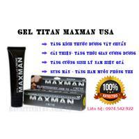 Cách tăng kích thước dương vật với gel titan maxman 2016