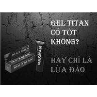 Gel titan là gì hiệu quả ra sao