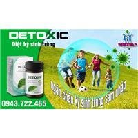 Thuốc Detoxic diệt ký tinh trùng, cải thiện sức khỏe