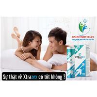 Xtrazex dạng viên sủi - Thúc đẩy sinh lý quý ông