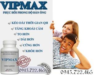 Thuốc tăng kích cỡ dương vật VIMAX